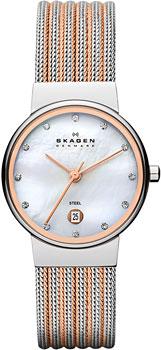 Женские часы Skagen 355SSRS